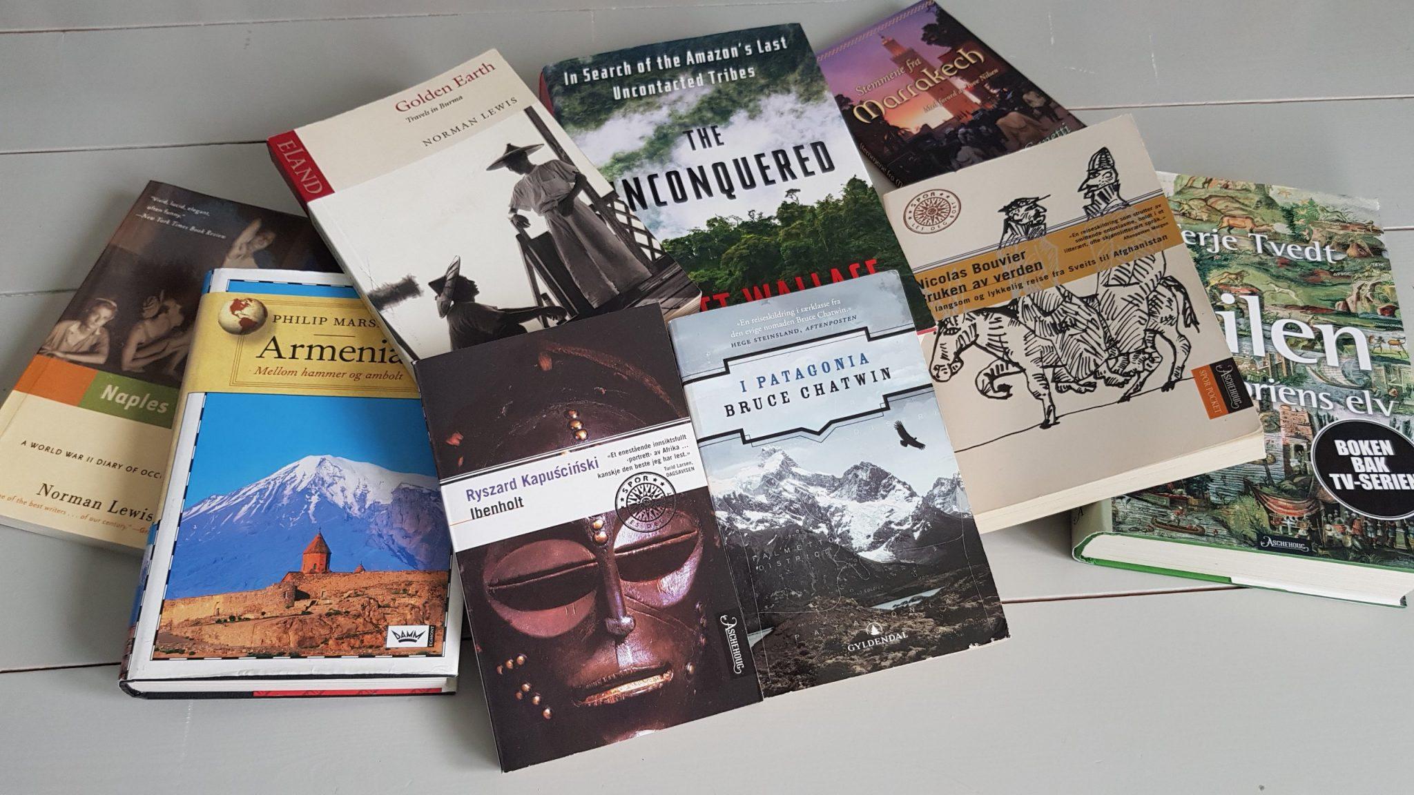 10 fantastiske reisebøker Reisebloggen Det vonde liv