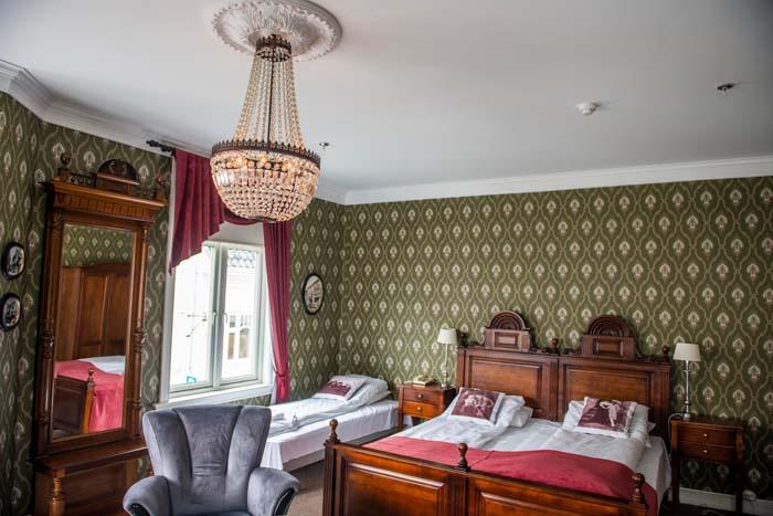hotellrom på Grand Hotell Flekkefjord