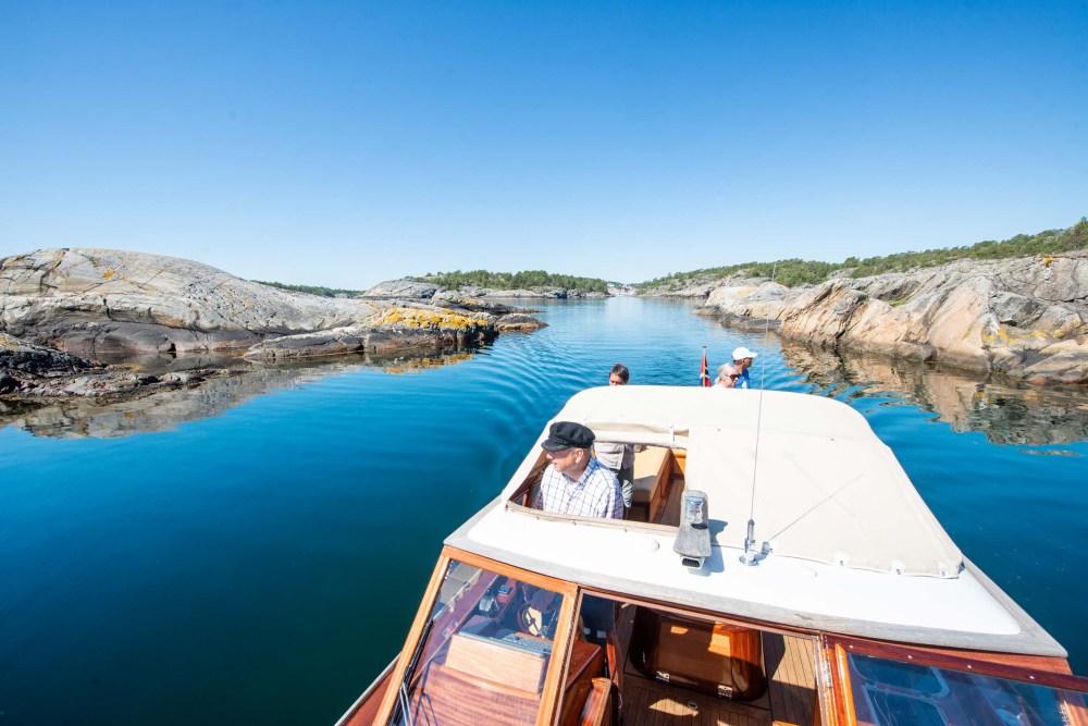 båttur i risør med trebåten Sonja G