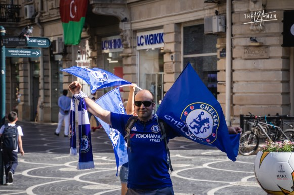 Russian Chelsea support
