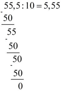 Pjestimi i numrave me presje me numra natyrore