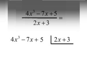 Pjesetimi i polinomit me (x-a)