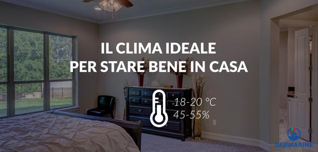 temperatura in casa clima