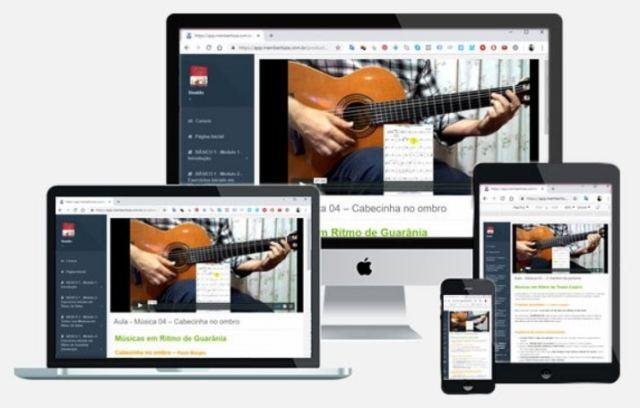 Curso de violão para avançar de um jeito fácil