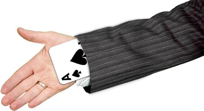 Mágica com baralho de um jeito fácil de aprender