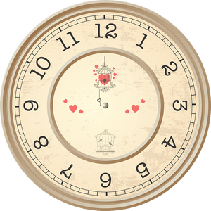 relógio para clicar