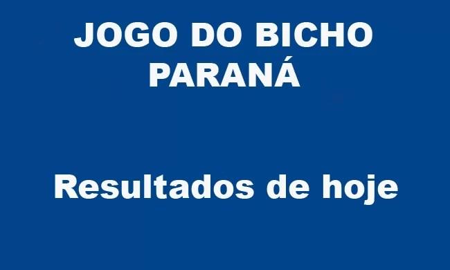 JOGO DO BICHO PARANÁ