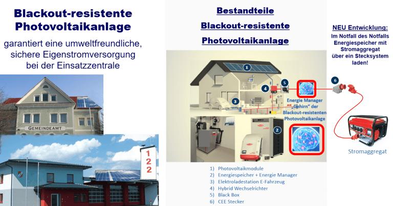 Blackout-resistente Photovoltaikanlage