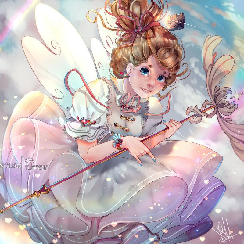 #Magicalgirl #Art