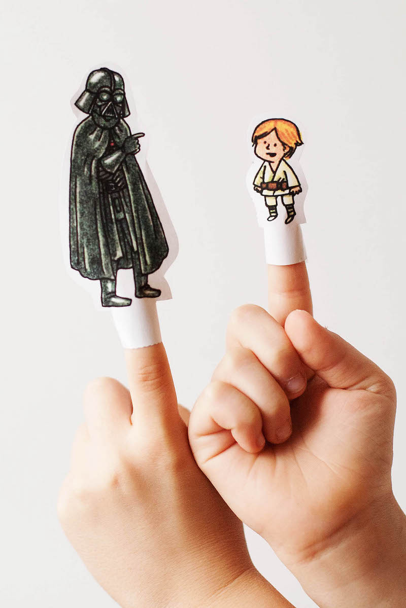 The Mary Sue Awakens: Now with Finger Puppets