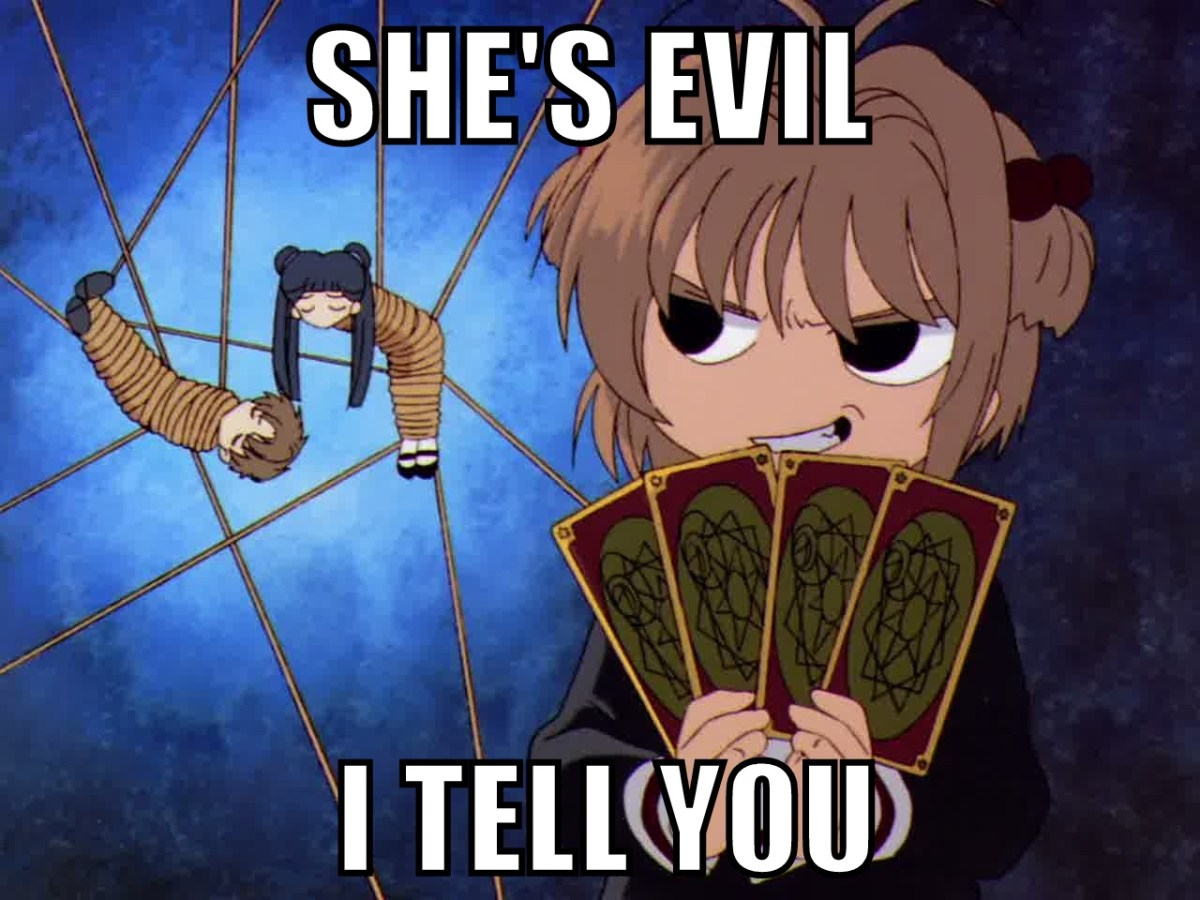 Why I Hate 'Cardcaptor Sakura' (and you can, eight!)