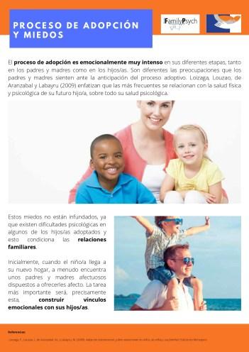 7. Proceso de adopción y miedos.