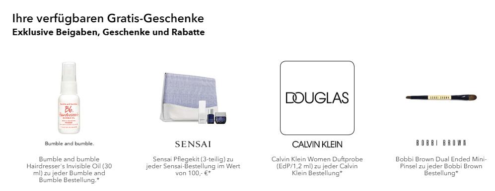 Germany Douglas Perfume Cosmetics Premium Code Full House 85