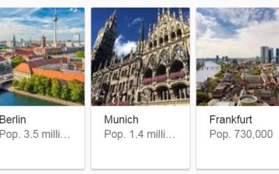 أفضل المناطق و المدن للعيش , الدراسة و العمل في ألمانيا