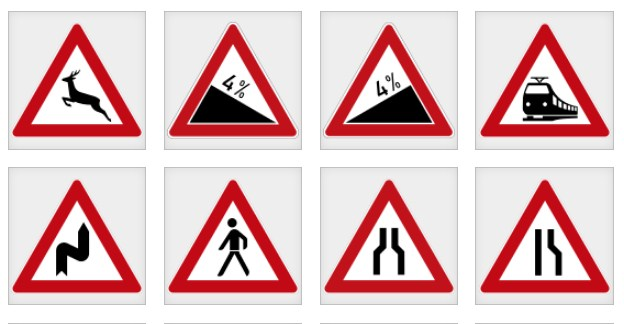 اشارات المرور في المانيا