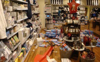 ألمانيا : مراهقون سوريون يتشاجرون داخل متجر و يحطمون محتوياته (صور)
