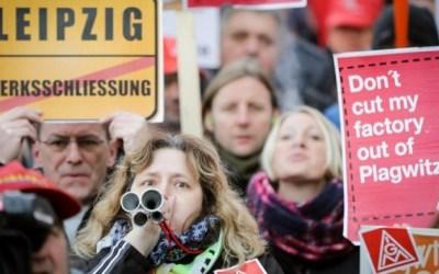 Proteste gegen Siemens