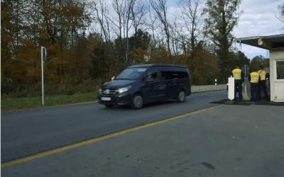 كيف تتم مراقبة الحدود الألمانية النمساوية ؟