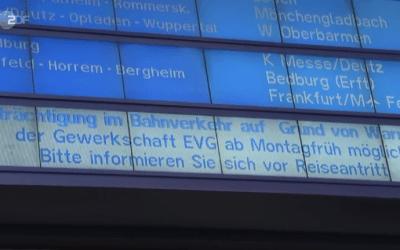 ألمانيا تفاصيل اضراب عمال السكك الحديدية