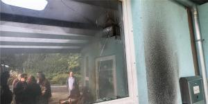 هجوم بزجاجات حارقة على مسجد في مدينة ألمانية ( فيديو )