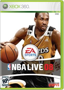 NBA Live 2008 Gilbert Arenas