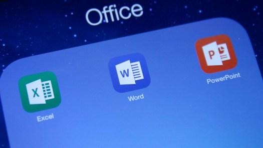 Microsoft Office free on iOS