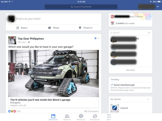 facebook-app-on-an-ipad