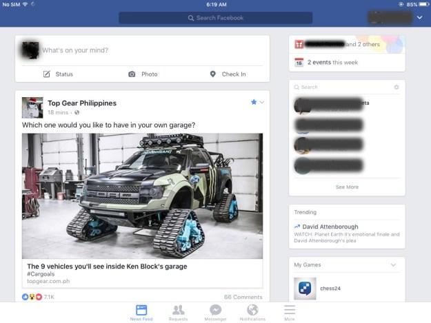 facebook-app-on-an-ipad