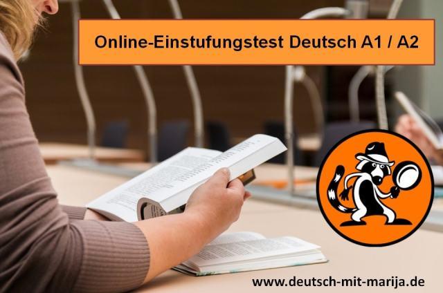 Online-Einstufungstest Deutsch A1-A2