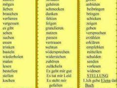 9768 - Rektion der Verben