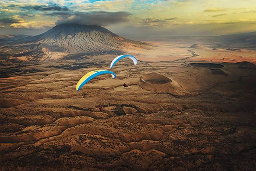 Gleitschirmflieger: Die schönsten Bilder von oben