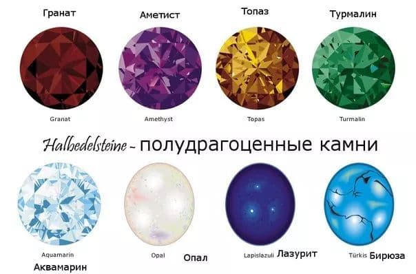 Halbedelsteine-drago kamenje