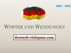 ftgvbh 1 - Wörter und Wendungen (400-450)