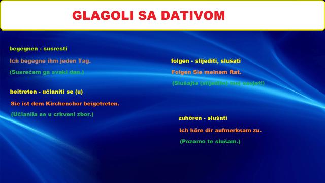 bljugi 300x169 - GLAGOLI SA DATIVOM