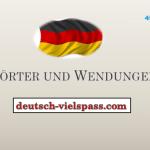 Wörter Und Wendungen (450-500)