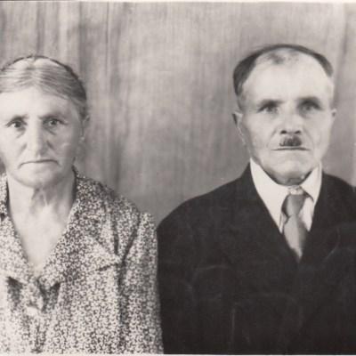 Anna und Ehemann Edmund Rolloff