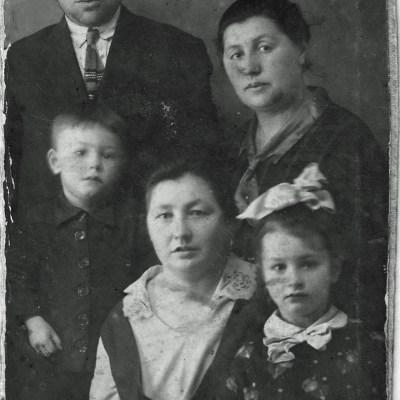 Familie Wilhelm Rolloff