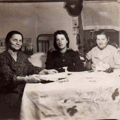 Gertrude, Anna und Erna Rolloff
