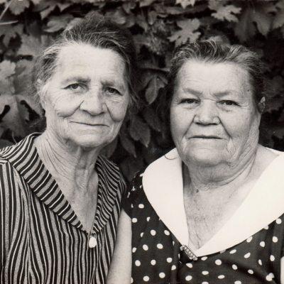 Gertrude und Erna Rolloff