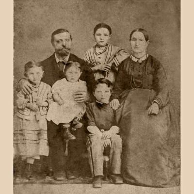 Familie Mergenthaler nachbearbeitet