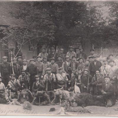 1937 Alexejewka, nach der Jagd