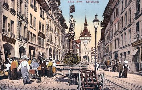 Bern, Käfigturm