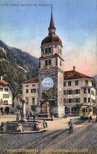 Altdorf, Dorfplatz mit Telldenkmal