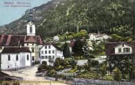 Altdorf, Pfarrkirche und Kapuzinerkloster