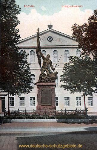 Apolda, Kriegerdenkmal