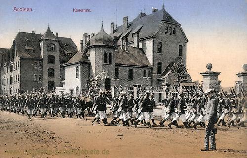 Arolsen, Kaserne