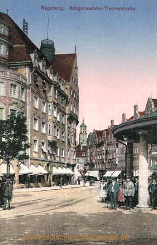 Augsburg, Bürgermeister Fischerstraße