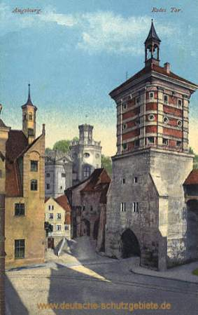 Augsburg, Rotes Tor