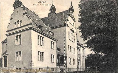 Aurich, Neues Gymnasium