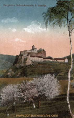 Aussig, Burgruine Schreckenstein